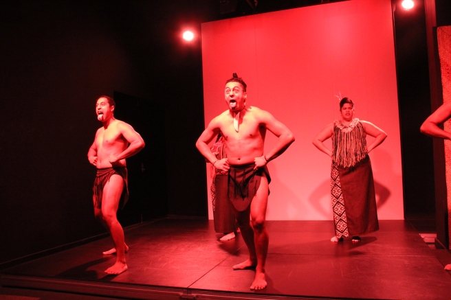 Maori culture performance of the Haka