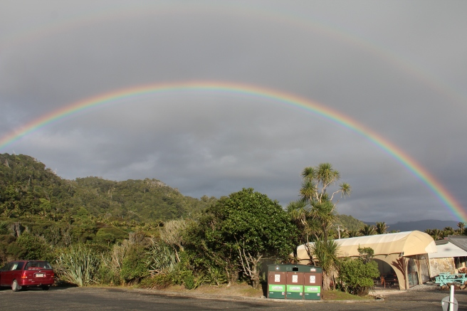 Most incredible rainbow...unfortunately the photograph doesn't do it justice