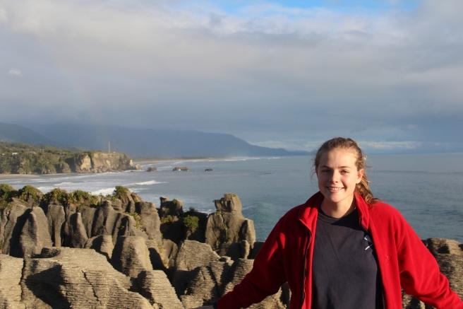 Me at the Pancake Rocks