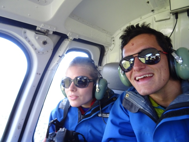 First helicopter ride!